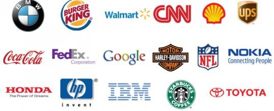 Các phương pháp thể hiện của logo.