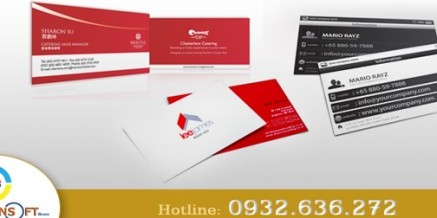 Danh thiếp, Name card, Card visit, Business card