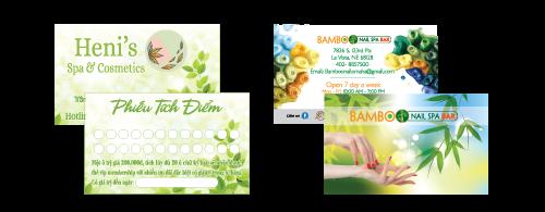In name card, danh thiếp, card visit